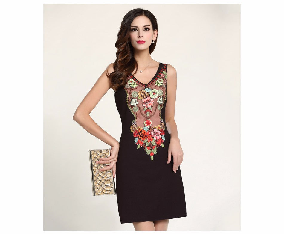 Women's Apparel Sleeveless Dress