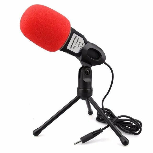Condenser Sound Podcast Studio Microphone