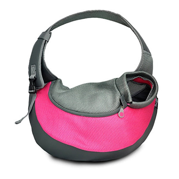 Breathable Mesh Dog Shoulder Bag Small Dog