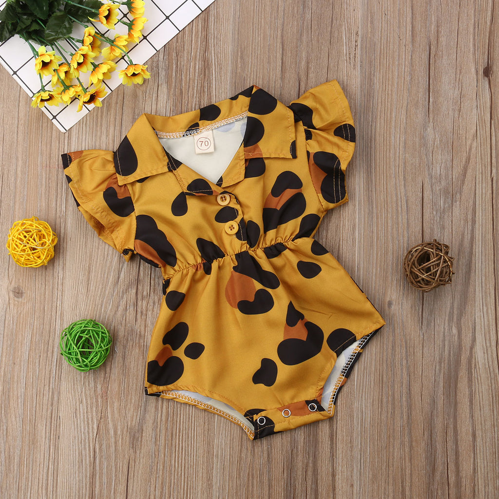 Summer Infant Newborn Baby Girl Clothes