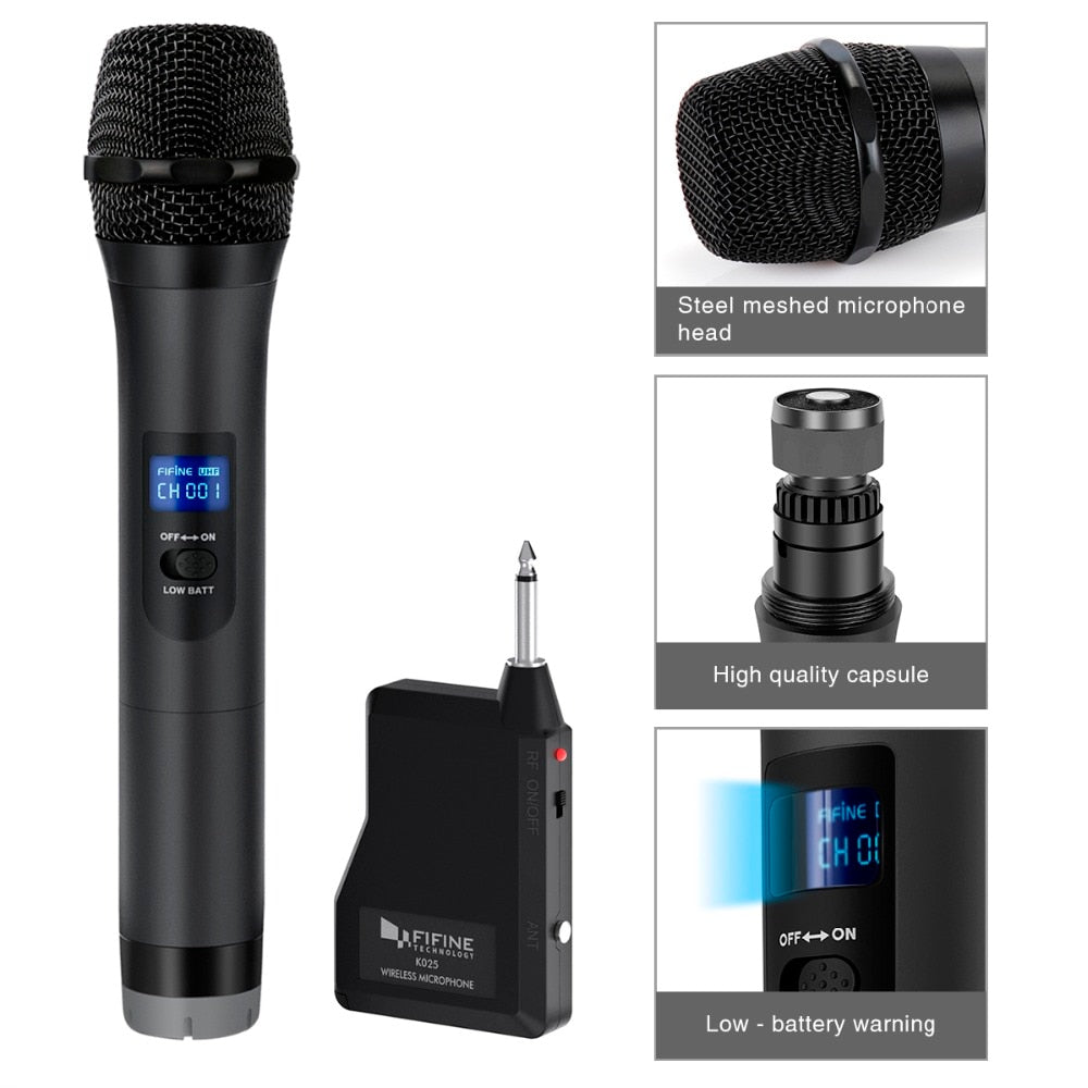 Wireless Handheld Dynamic Microphone