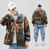 Vintage Printed Loose Jackets