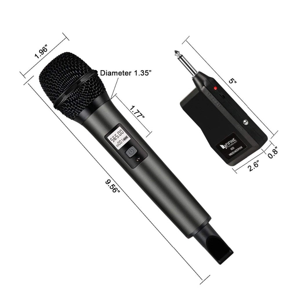 Wireless Microphone System & Receiver