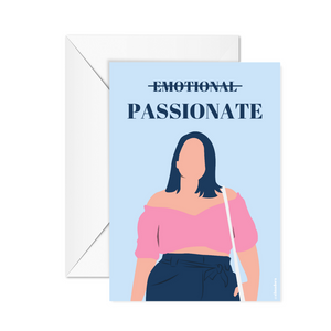 Passionate - Poster or occasion card