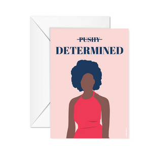 Determined - Poster or occasion card