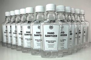 Hand Sanitizer Liquid 80% Alcohol (Sold by the CASE)