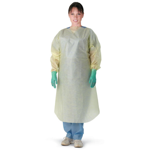 Multi-Ply Over Head Open Back Isolation Gown