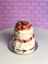 Load image into Gallery viewer, Individual Strawberry and Cream Cake