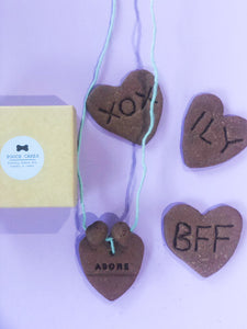 Valentine Bundle <3 Necklace in Gift Box + 3 Cookies