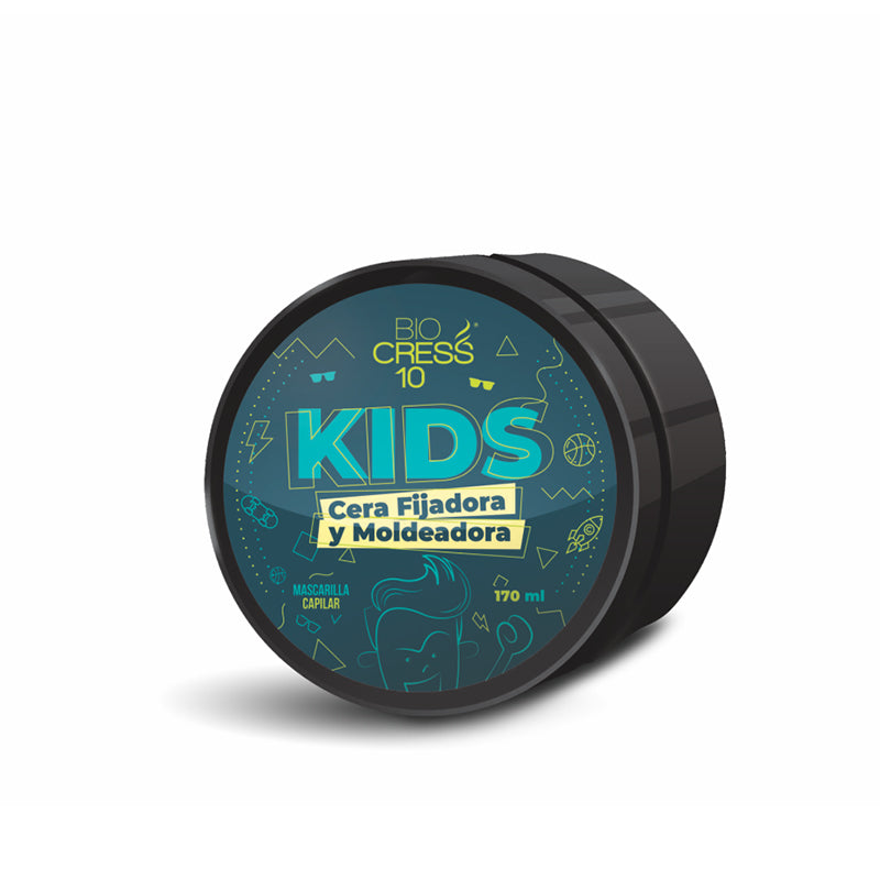 CERA FIJADORA KIDS 170 ML - BIOCRESS
