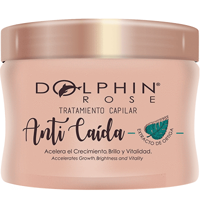 TRATAMIENTO CAPILAR ANTICAIDA - 300 ML - DOLPHIN ROSE