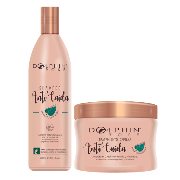 KIT DE LINEA ANTICAIDA 300 ML -DOLPHIN ROSE