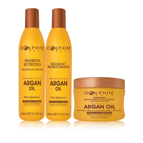 KIT ARGAN OIL - DOLPHIN ROSE