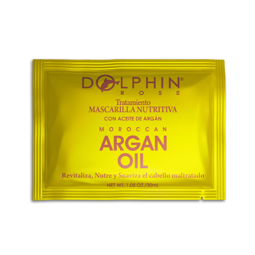 MASCARILLA DE ARGAN OIL 30GM ROSE  - DOLPHIN ROSE