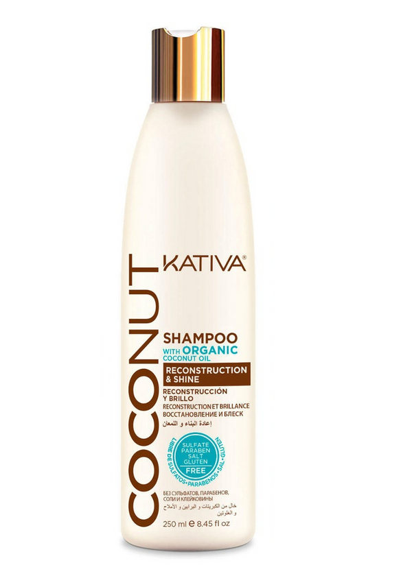 SHAMPOO COCONUT X 250ML - KATIVA