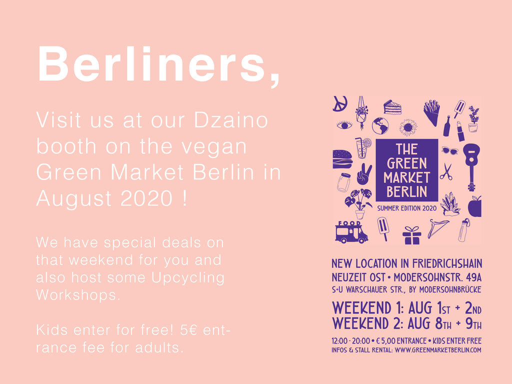Dzaino at THE GREEN MARKET BERLIN