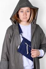 Load image into Gallery viewer, Cross Bag Puffa Blue