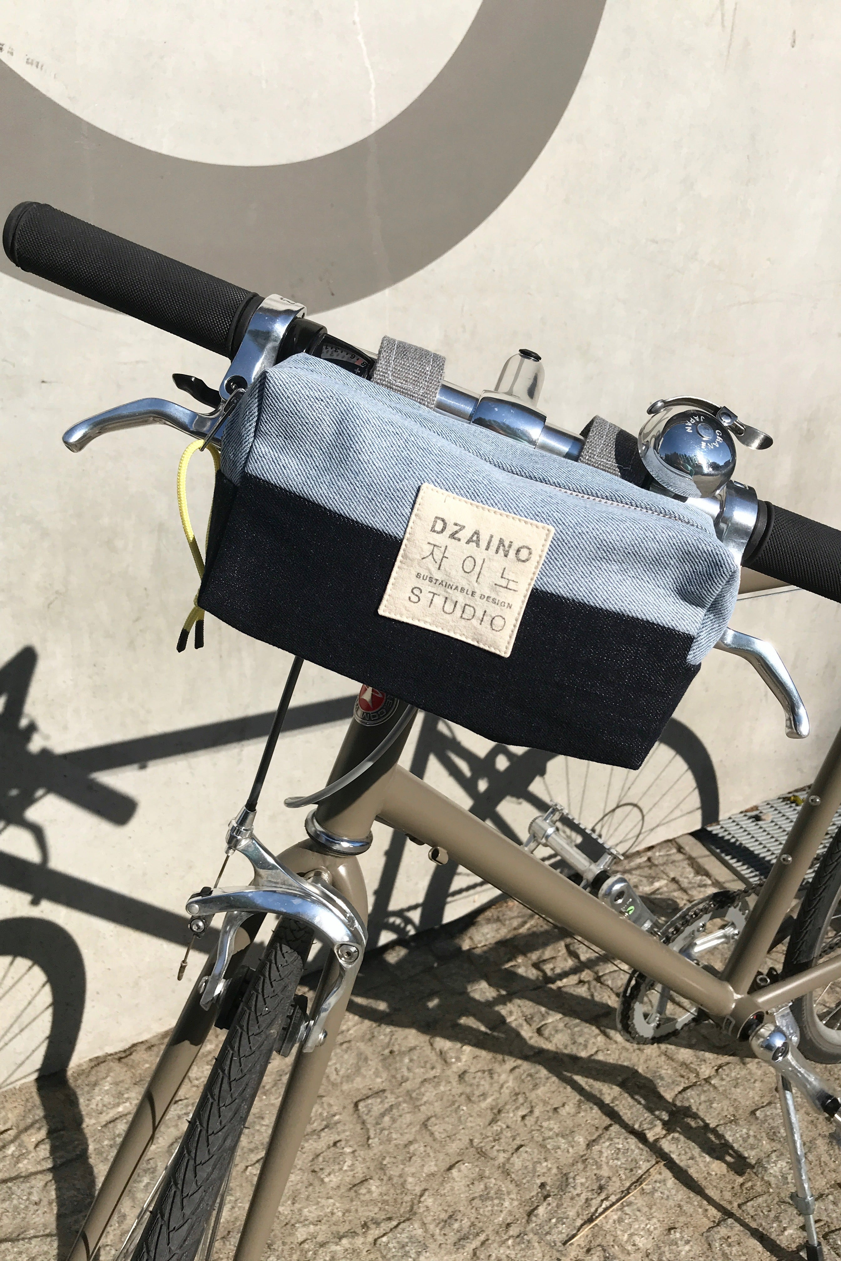 Bike Bag Denim Patchwork