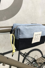 Load image into Gallery viewer, Bike Bag Denim Patchwork