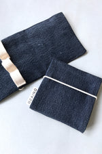 Load image into Gallery viewer, Essential Oil Wallet Jeans Navy