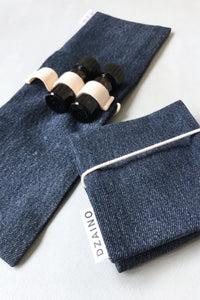 Essential Oil Wallet Jeans Navy