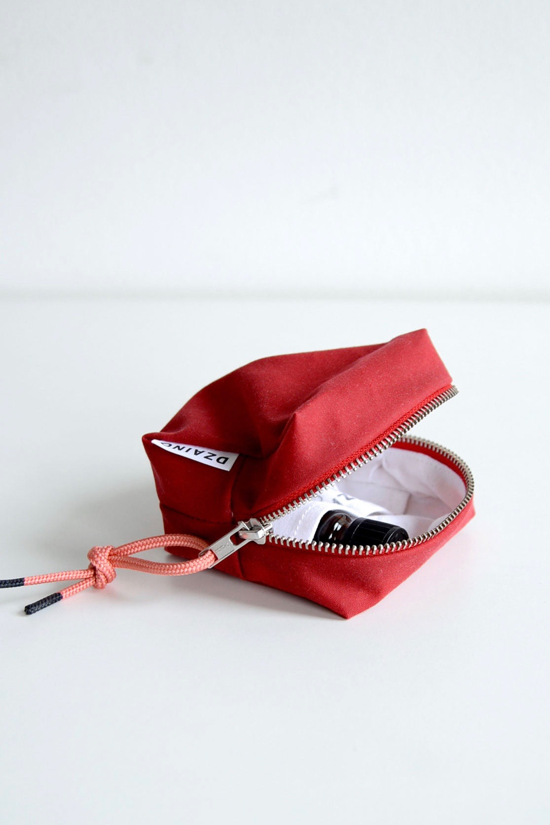 Essential Oil Bag Starter Red Waxed