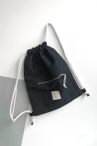 Gymbag Dark Blue Rawdenim