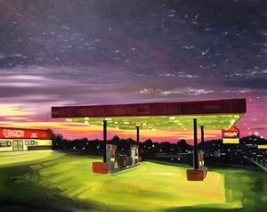 Gas Station Shine Print