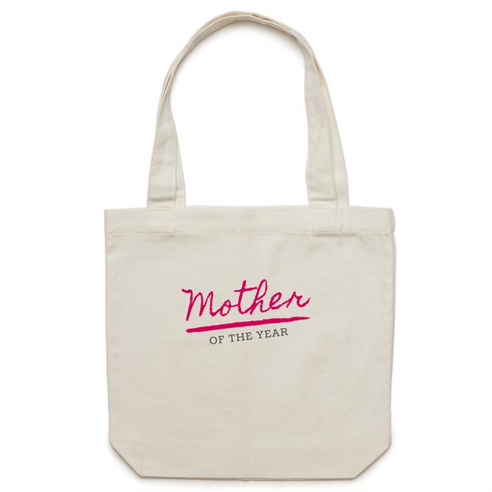 Mothers of the Year Canvas Tote Bag - Papaya Lane