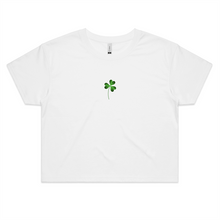 Load image into Gallery viewer, Lucky Me! St Patricks Crop Top - New