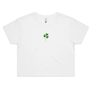 Lucky Me! St Patricks Crop Top - New