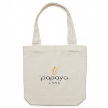Load image into Gallery viewer, Papaya Lane Canvas Tote Bag