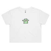 Load image into Gallery viewer, Be My Monster Print Crop Top