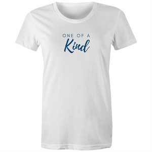 One of a Kind Blue Etiko AU 100% Organic Cotton T-shirt - Papaya Lane