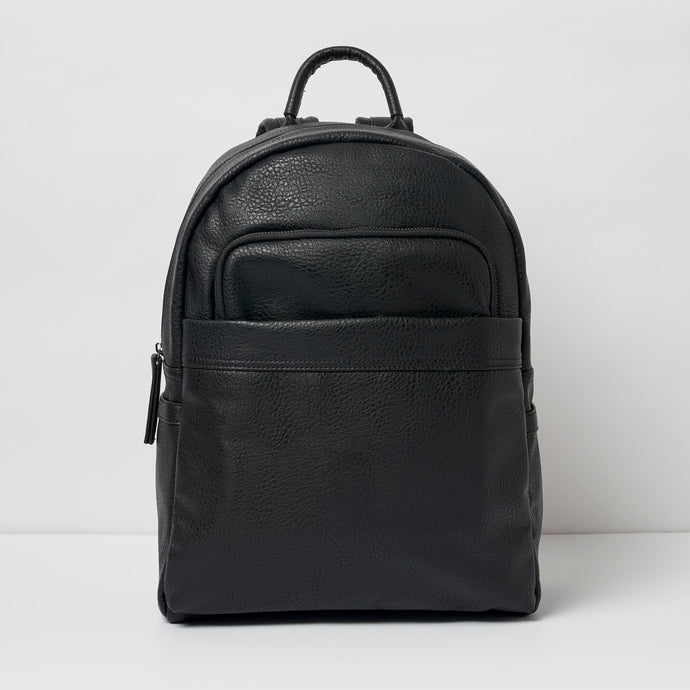 Belong Vegan Leather Black Backpack - Urban Originals