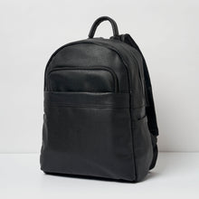 Load image into Gallery viewer, Belong Vegan Leather Black Backpack - Urban Originals - Papaya Lane