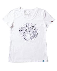 Etiko Print Organic Fairtrade T-shirts - EOFY Sample Sale - Papaya Lane