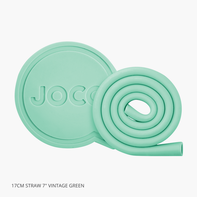 Joco Roll Reusable Straw 17cm Vintage Green 7