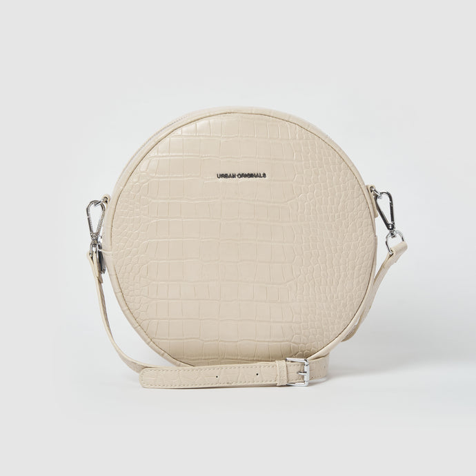 Magnolia Vegan Leather Crossbody Beige / Cream Bag - Urban Originals