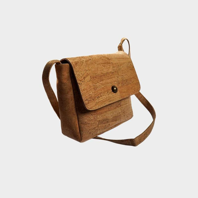 Cork Essential Shoulder Bag - Vegan Bag by Cork Element - Papaya Lane