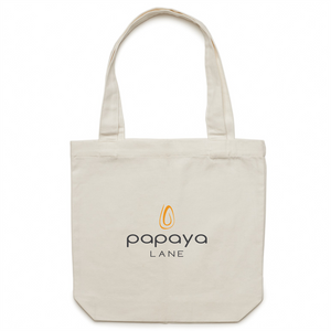Papaya Lane Canvas Tote Bag