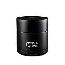 Load image into Gallery viewer, frank green Coffee Gift Box - Black with Cloud White Reusable Ceramic Cup - Papaya Lane