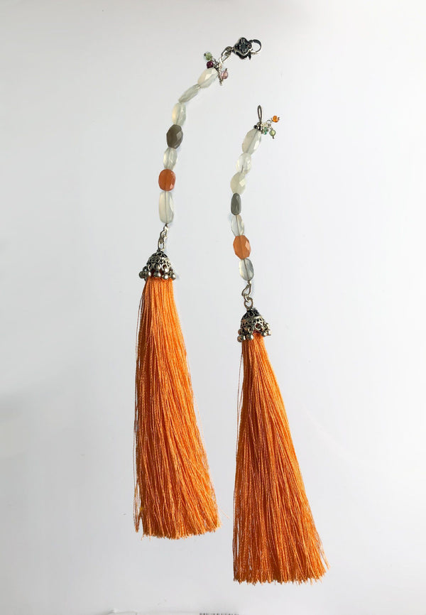 Orange Tassel - adelina.world
