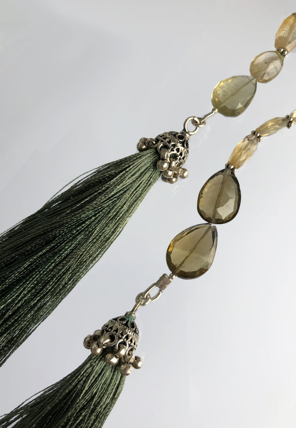 Light Green Tassel - adelina.world