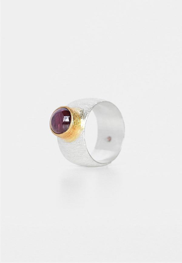 Garnet Double Ring - adelina.world