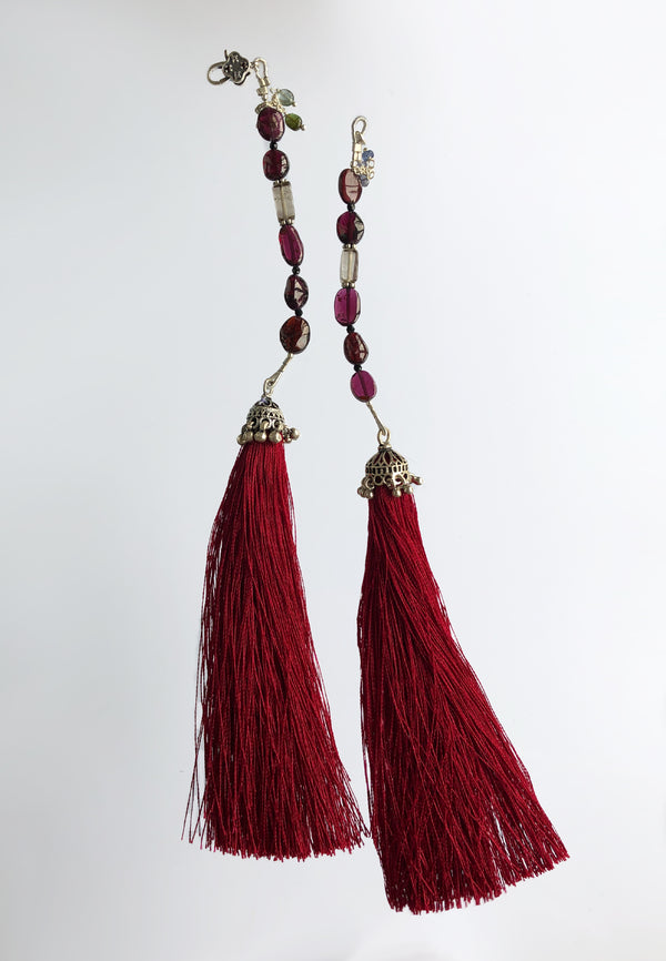Red Tassel - adelina.world