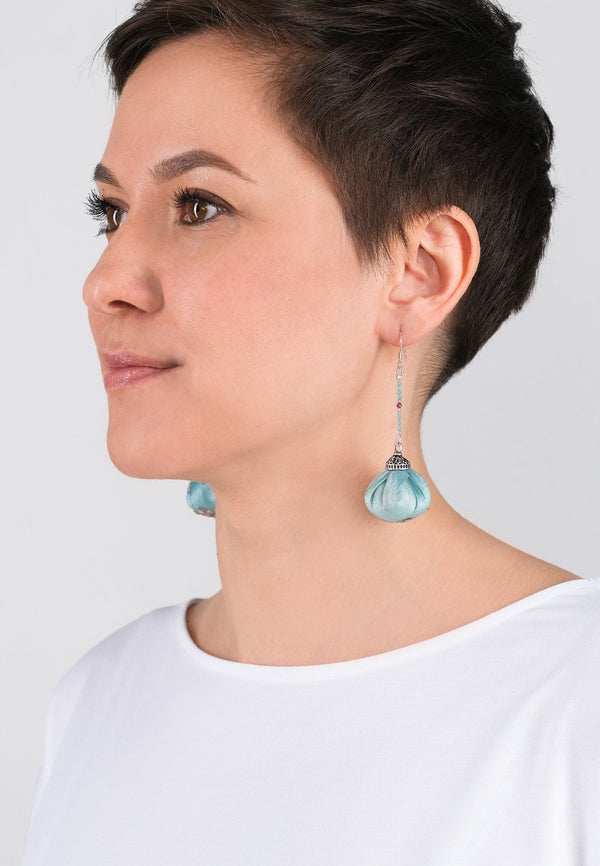 Earrings Pompons 6 - adelina.world