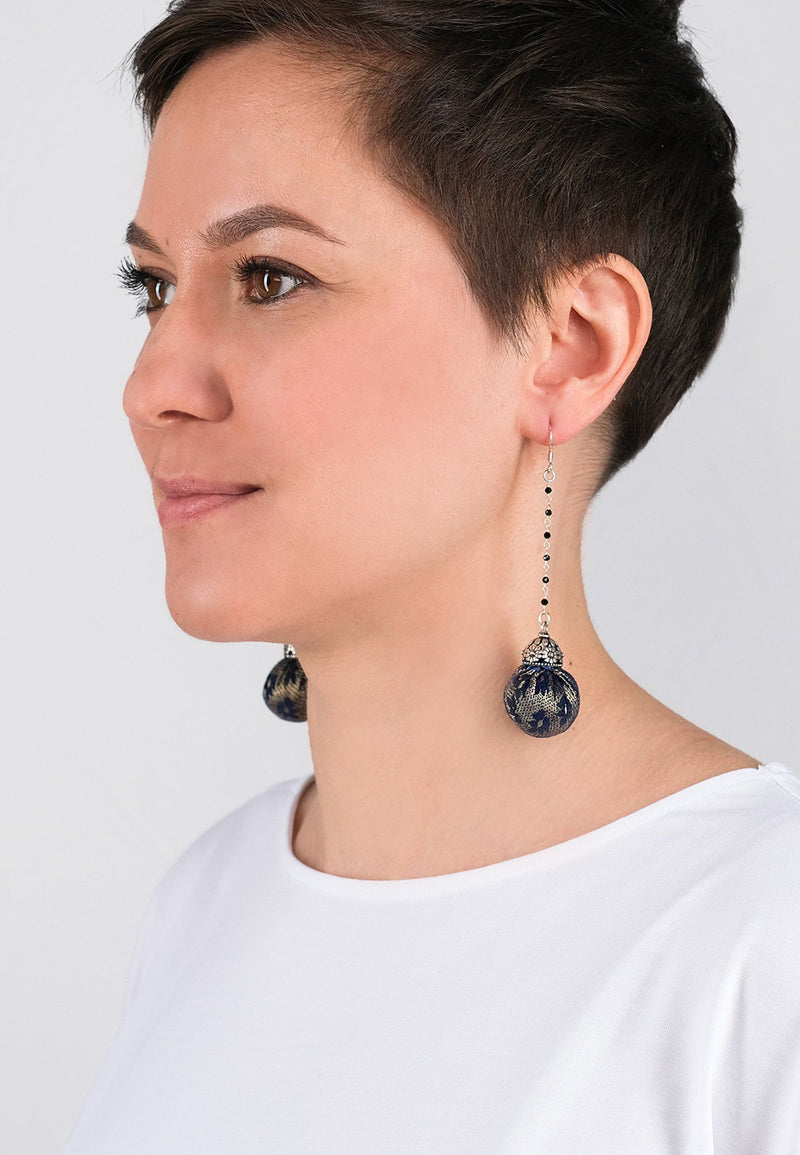 Earrings Pompons 7 - Adelina1001
