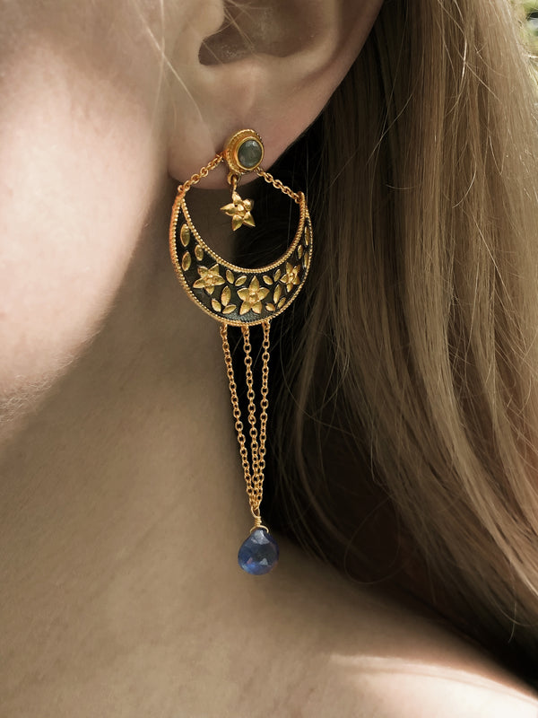 Earrings Moonlight - adelina.world