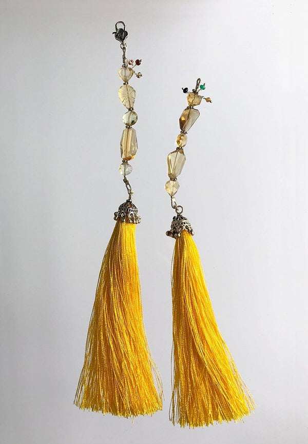 Yellow Tassel - adelina.world